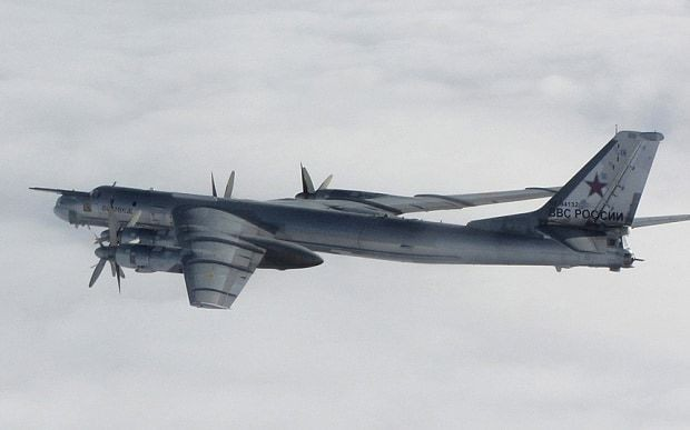 Russian bombers disrupted planes in Irish airspace