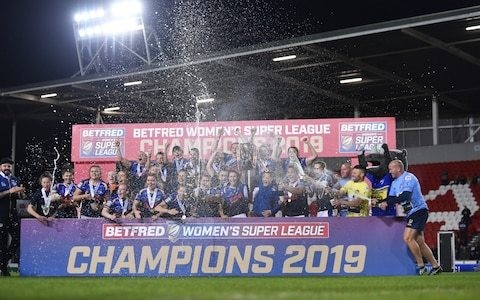 Women's Super League expands again as Warrington Wolves and Huddersfield Giants sign up