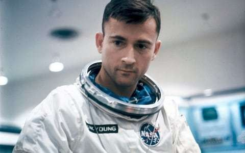 Remembering the Moon landings: John Young, the first man to orbit the Moon solo, ready to come home alone if his crewmates' mission failed