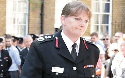 Dany Cotton, London Fire Brigade Commissioner, to step down early