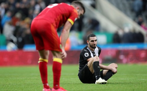 Woeful finishing and heroics of Newcastle's goalkeeper result in stalemate as St James' Park shows its displeasure