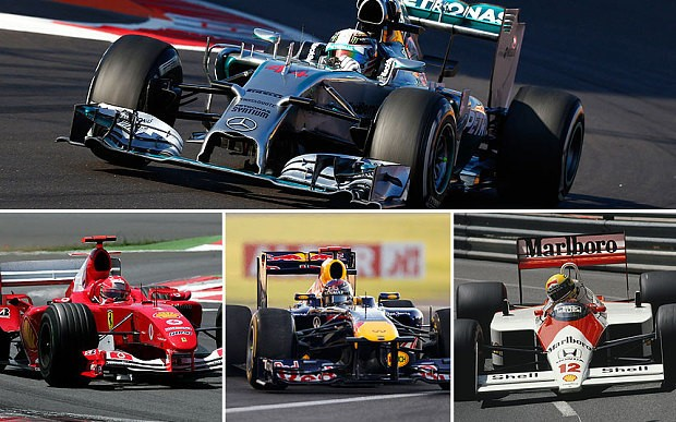 Is the 2014 Mercedes the greatest Formula One car ever?