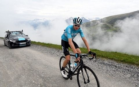 Chris Froome: how I burn fat and build stamina using low-carb training