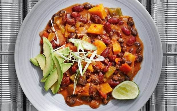 Bean chilli recipe
