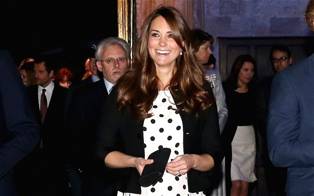 The Duchess of Cambridge is blamed by Lulu Guinness for shrinking size of handbags