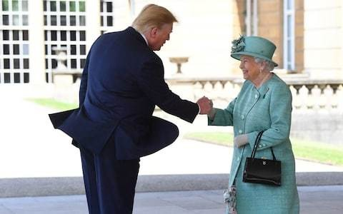 Only the Queen has the grace to navigate this age of insults