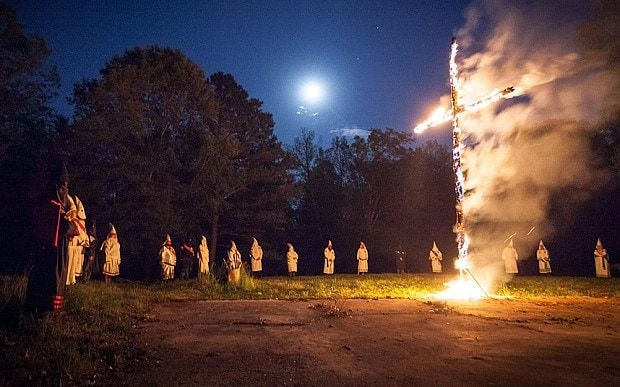 Ku Klux Klan still thriving against backdrop of US racial tensions