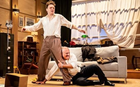 Moonlight and Magnolias review, Nottingham Playhouse: the enjoyably deranged theatre of writing the biggest film of all time