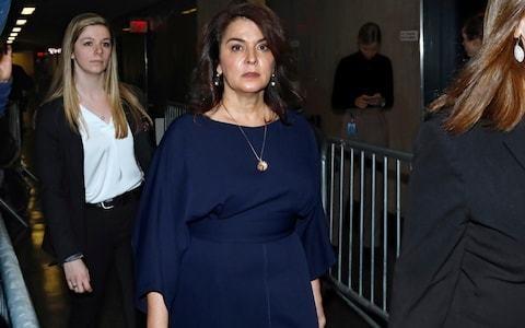 Sopranos actress Annabella Sciorra testifies of desperate attempts to fight off alleged Weinstein rape