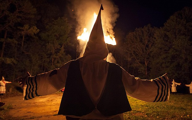 Ku Klux Klan still thriving against backdrop of US racial tensions