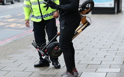 Do electric scooters need insurance? Police say yes – but it doesn't exist