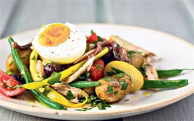 New potato niçoise salad recipe