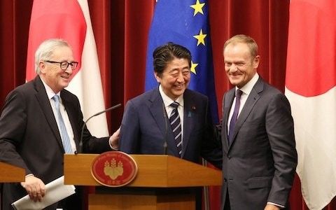 Brexit gives us the chance to trade with new and old friends, starting with Japan