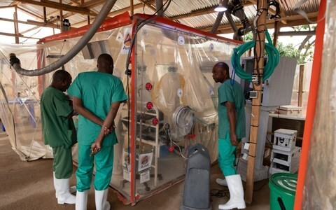 Congolese doctor honored for game-changing 'Ebola Cube'