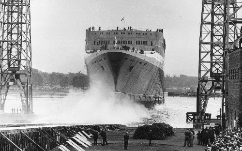 Fifty years of the QE2, from ocean liner to floating hotel