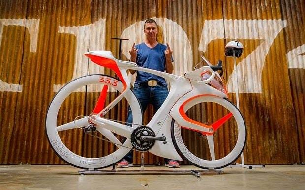 Is this the bicycle of the future?