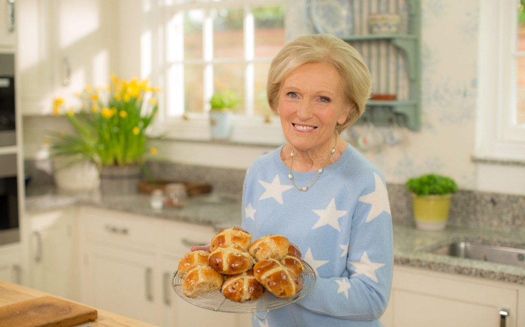 Mary Berry's hot cross bun confession