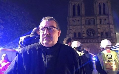 How Notre-Dame's relics were rescued by hero priest who rushed into flames
