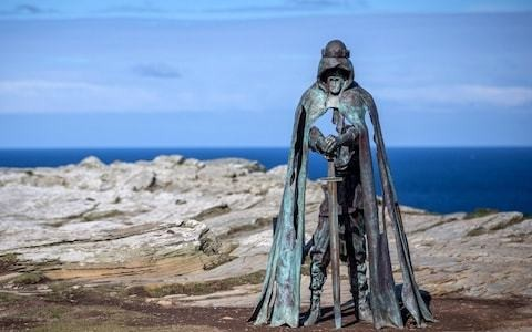 Royal palace discovered in area believed to be birthplace of King Arthur