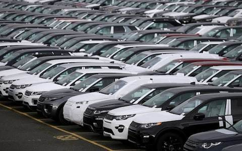 Jaguar Land Rover sales fall again in further blow for car industry
