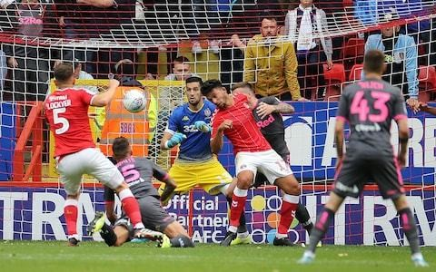 Leeds drop out of automatic promotion places with loss to Lee Bowyer's Charlton