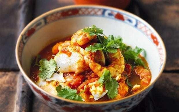 Aung San Suu Kyi's Burmese tomato fish curry recipe