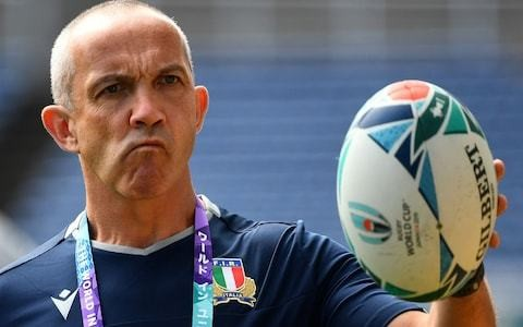 Exclusive: Italy coach Conor O'Shea warns World Rugby it must not reschedule Scotland vs Japan clash
