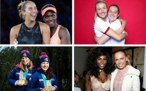 'To have someone you compete against one moment and laugh with the next is rare' - The eight strongest female friendships in sport