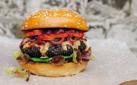 The ultimate vegetarian burger recipe