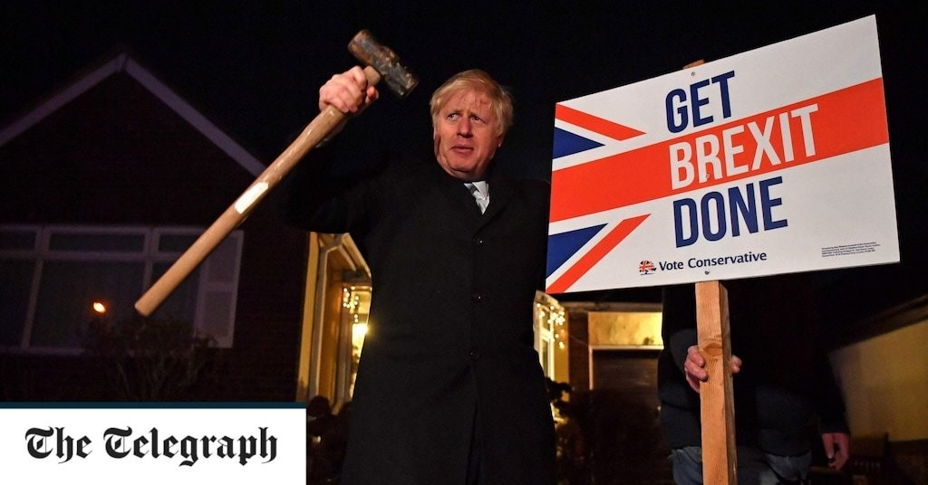 After a year in power, has Boris only got Brexit done in name only?