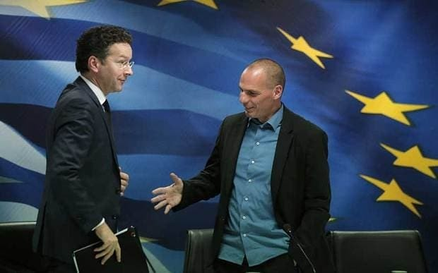 Yanis Varoufakis: 'I'm the finance minister of a bankrupt country'