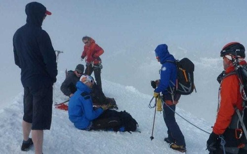 Italian mountaineers criticise day-trippers for tackling Alpine peaks in shorts and trainers