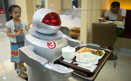 Unauthorised WALL-E robot restaurants are a hit in China