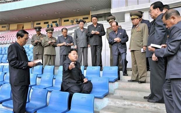 Kim Jong-un orders spruce up of world's biggest stadium as 'millions starve'