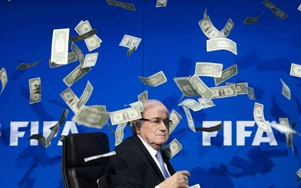 Sepp Blatter threatened with £100m 'embezzlement' lawsuit by former Fifa vice-president Chung Mong-joon
