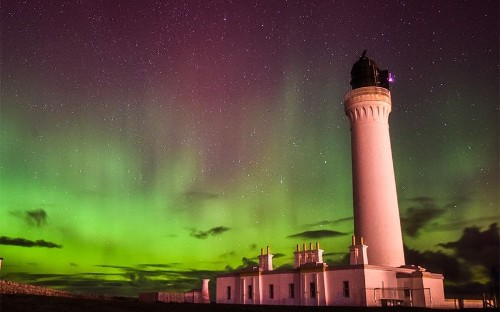 Northern Lights: Aurora borealis dazzles in Britain's skies, in pictures - Telegraph