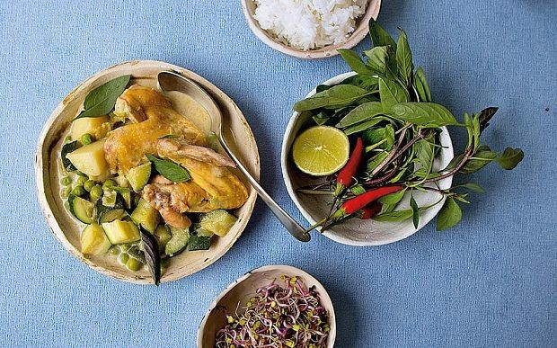 Ginger and coconut chicken stew recipe