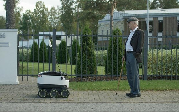 Skype founders invent self-driving robot that can deliver groceries for £1