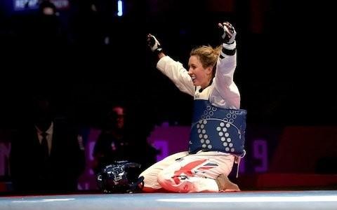Jade Jones sets sights on Tokyo Olympic gold after ending wait for world title