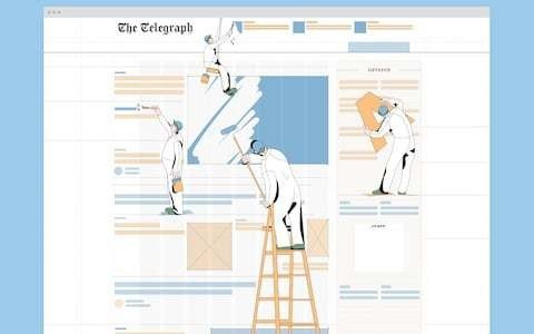 Introducing The Telegraph's new homepage