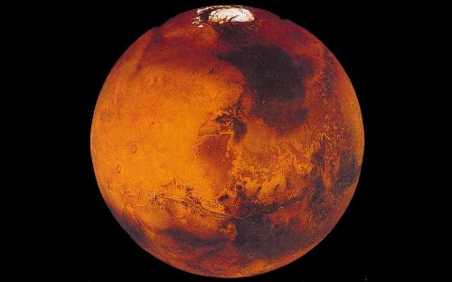Mars may have had two 'mega-tsunamis' according to new research