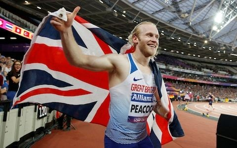 Jonnie Peacock interview: 'Parasport is about people putting themselves out there and not having fear'