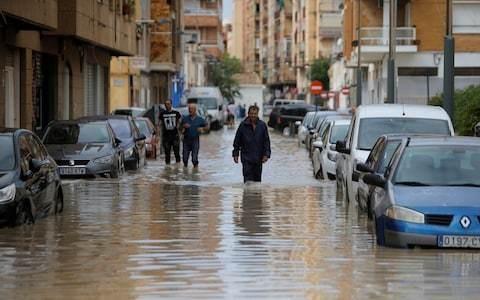 Three dead as torrential rains hit southern Spain