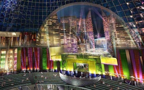 Dubai's Mall of the World: London's Oxford Street and Broadway recreated in the Middle East