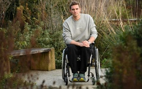 Triple Olympian Pete Reed backing himself to win battle to walk again