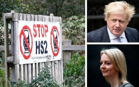 Leadership candidates must promise to scrap HS2, secret report circulating among senior Tories says