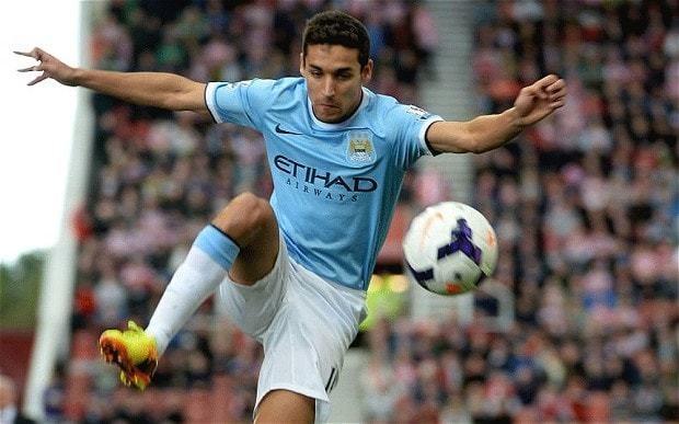 Manchester City v Manchester United: Spanish midfielder Jesús Navas was so fast that he broke running machine