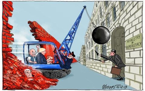 Boris Johnson's brave new era must start with a ruthless Whitehall revolution