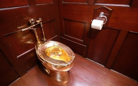 Police hunting £4.8m golden lavatory thieves release man, 66, on bail