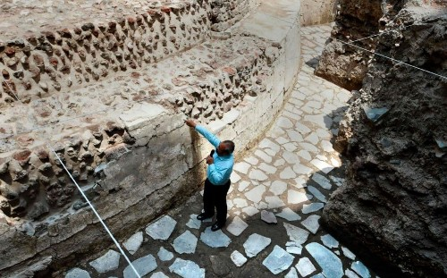 Ancient Aztec temple and ball court discovered in Mexico City
